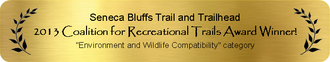 2013 Coalition for Recreational Trails Award Winner for Environment and Wildlife Compatibility