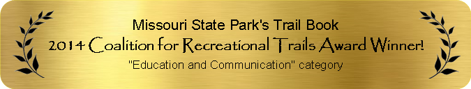 2014 Coalition for Recreational Trails Award Winner for Education and Communication
