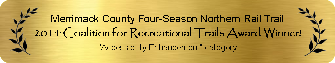 2014 Coalition for Recreational Trails Award Winner for Accessibility Enhancement